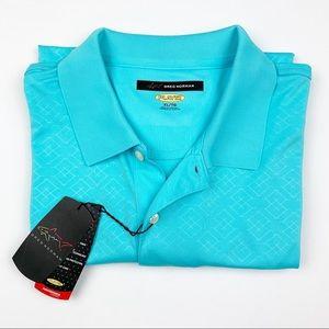 New Greg Norman Golf Shirt Polo PlayDry Men's XL